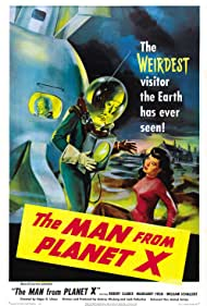 Margaret Field and Pat Goldin in The Man from Planet X (1951)