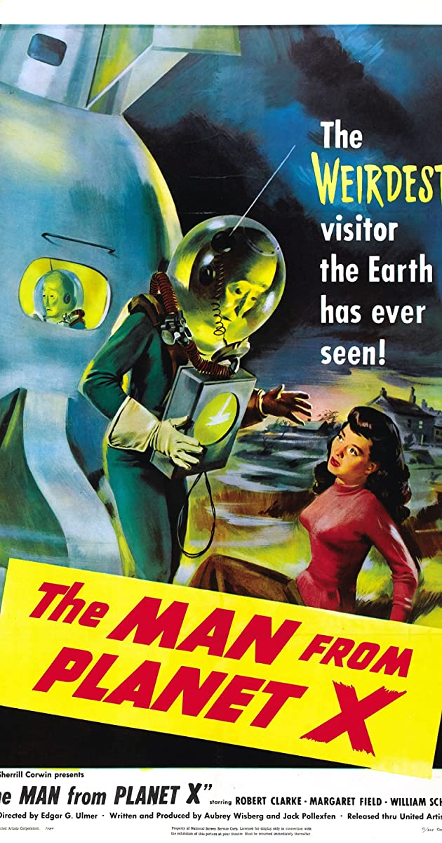 Subtitle of The Man from Planet X