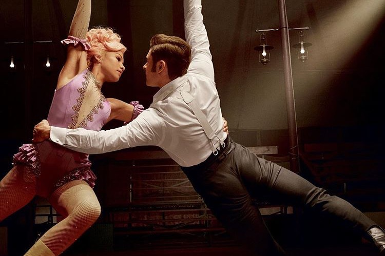 Zac Efron and Zendaya in The Greatest Showman (2017)