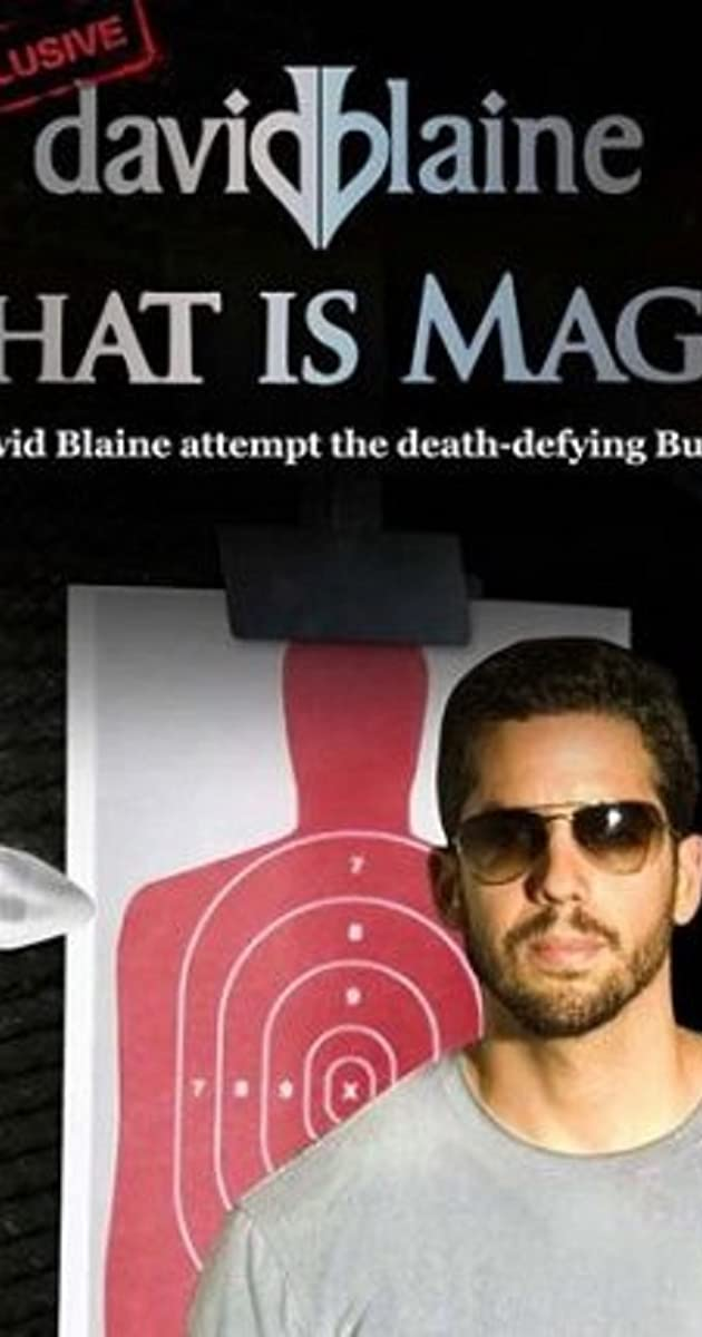 Subtitle of David Blaine: What Is Magic?