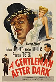 A Gentleman After Dark Poster