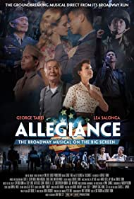 George Takei, Lea Salonga, Michael K. Lee, Telly Leung, and Katie Rose Clarke in George Takei's Allegiance (2016)