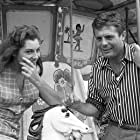 Marcello Mastroianni and Rosanna Schiaffino in Un ettaro di cielo (1958)