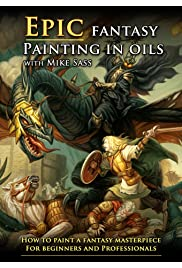 Epic Fantasy Painting in Oils