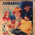 Andrex, Liliane Bert, and Fernandel in L'héroïque Mr Boniface (1949)
