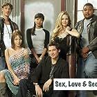 Denise Richards, Eric Balfour, Lauren German, Omar Benson Miller, Tamara Taylor, and James Stevenson in Sex, Love & Secrets (2005)