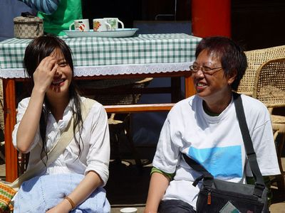 Ann Hui and Wei Zhao in Yu guanyin (2003)