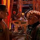 Armin Shimerman and Rene Auberjonois in Star Trek: Deep Space Nine (1993)