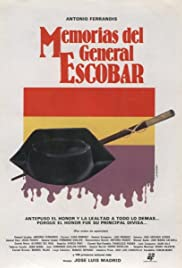 Memorias del general Escobar Poster