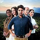 Gracindo Júnior, Diogo Morgado, Zezé Motta, Sílvia Pfeifer, and Joana de Verona in Ouro Verde (2017)