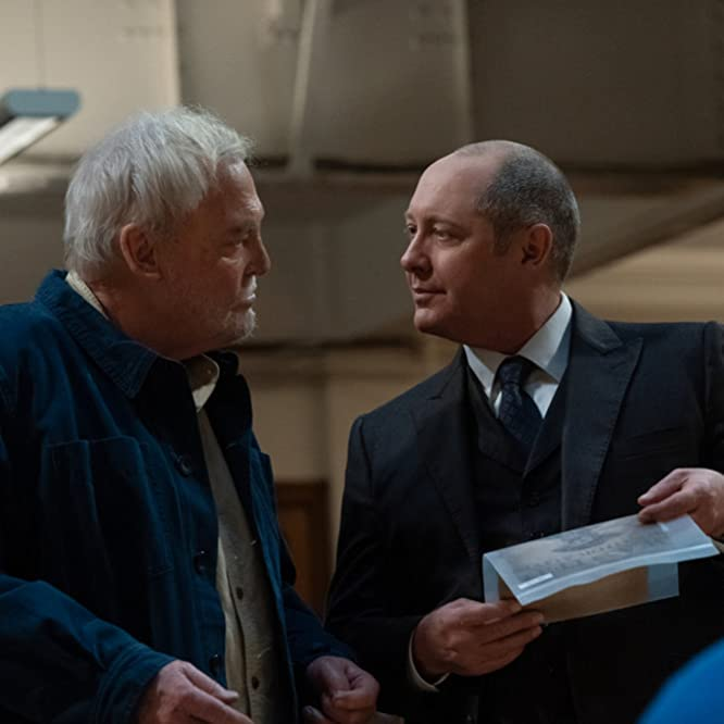 James Spader and Stacy Keach in The Blacklist (2013)