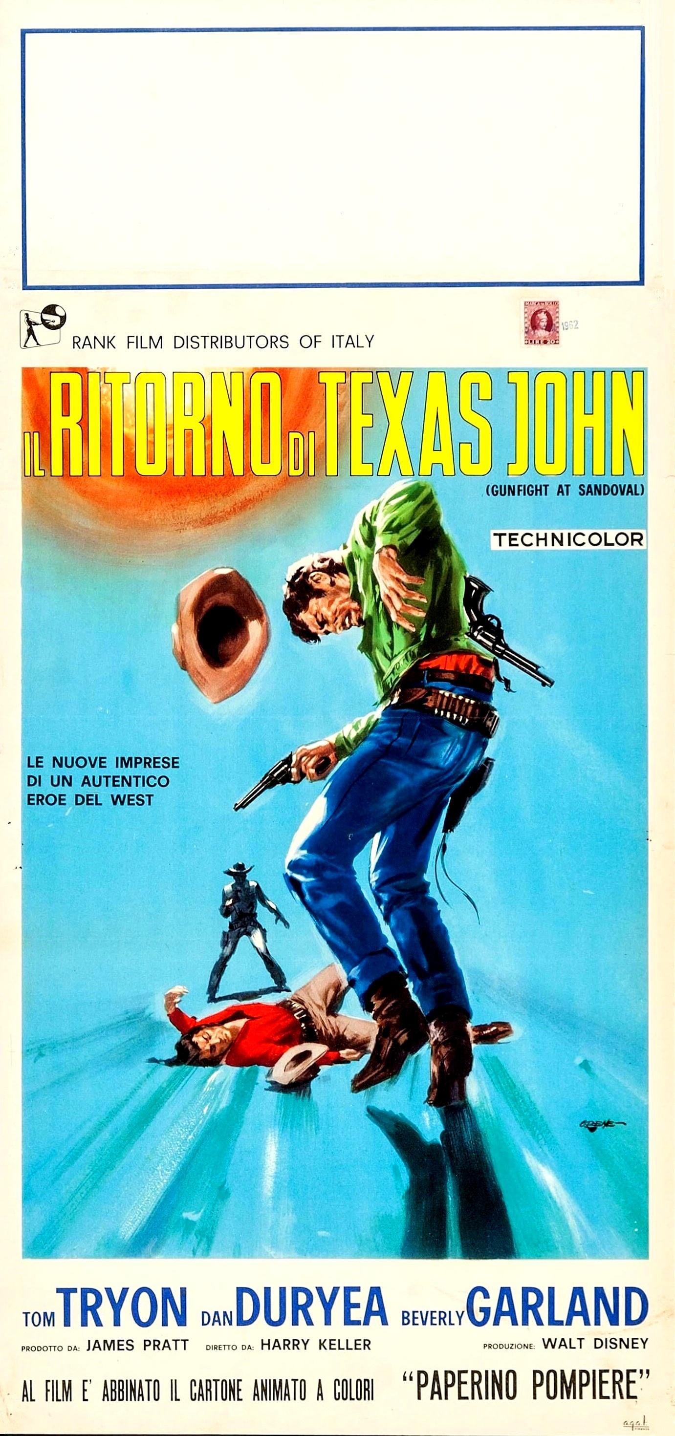 Gundown at Sandoval (1961)