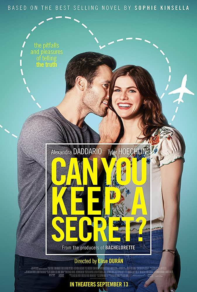Tyler Hoechlin and Alexandra Daddario in Can You Keep a Secret? (2019)