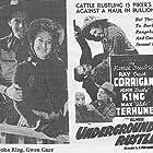 Ray Corrigan, Gwen Gaze, John 'Dusty' King, Max Terhune, and Elmer in Underground Rustlers (1941)