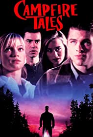 James Marsden, Amy Smart, Ron Livingston, and Christine Taylor in Campfire Tales (1997)