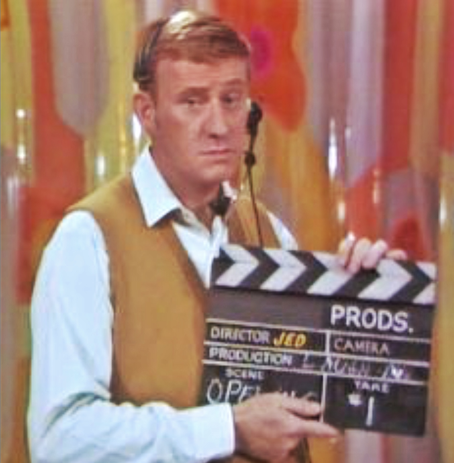 Dave Madden in Laugh-In (1967)