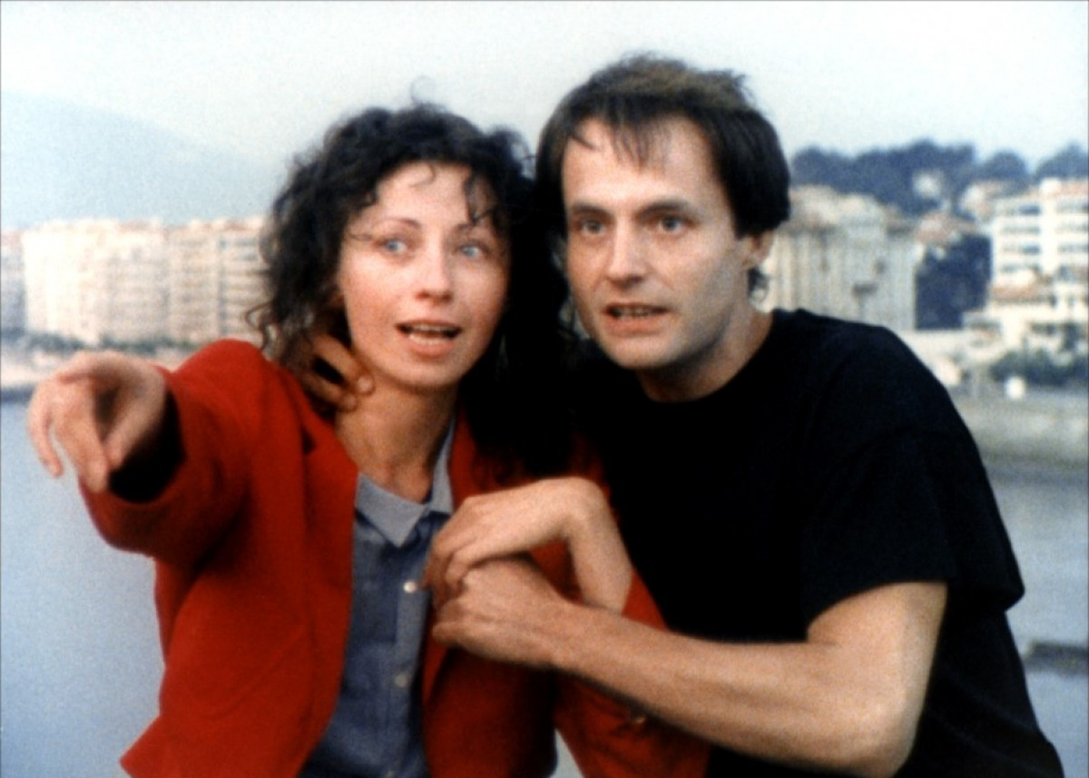 Vincent Gauthier and Marie Rivière in Le rayon vert (1986)