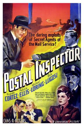 Bela Lugosi, Ricardo Cortez, Patricia Ellis, and Michael Loring in Postal Inspector (1936)