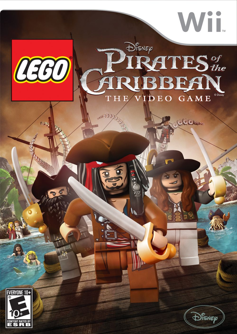 Lego Pirates of the Caribbean: The Video Game (Video Game