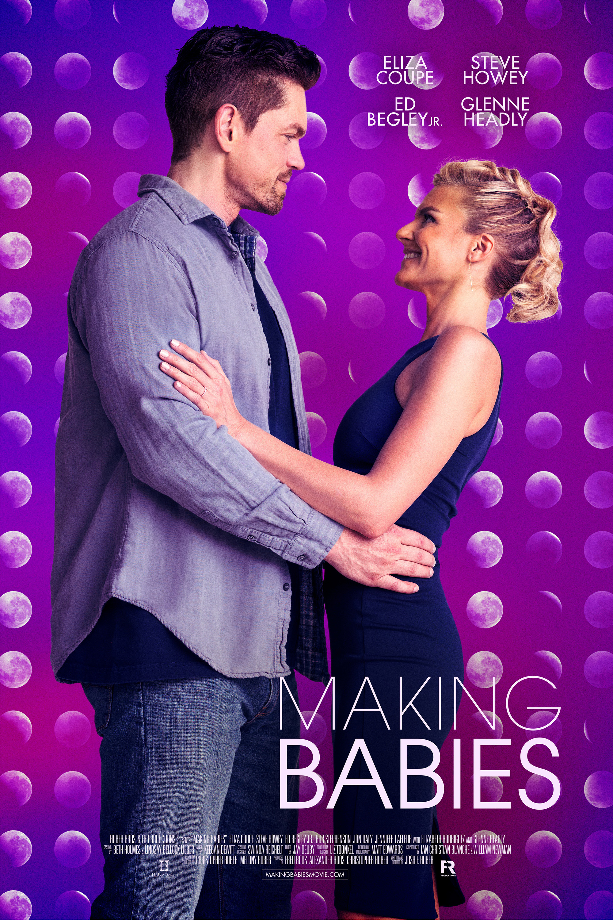 Steve Howey and Eliza Coupe in Making Babies (2018)