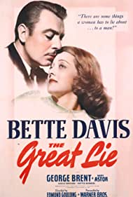 Bette Davis and George Brent in The Great Lie (1941)