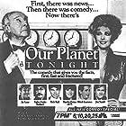 Morgan Fairchild, John Houseman, Jay Leno, Rich Hall, Mitchell Laurance, Don Novello, Martha Quinn, and Jim Staahl in Our Planet Tonight (1987)