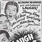 Milton Berle, Bing Crosby, Bob Hope, and Danny Kaye in The Sound of Laughter (1963)