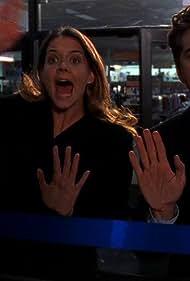 Katie Holmes and Joshua Jackson in Dawson's Creek (1998)