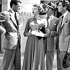 Deborah Kerr, Peter Lawford, Mark Stevens, and Robert Walker in Please Believe Me (1950)