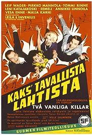 Kaks' tavallista Lahtista Poster