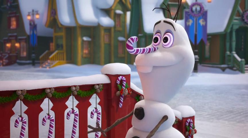 Josh Gad in Olaf's Frozen Adventure (2017)