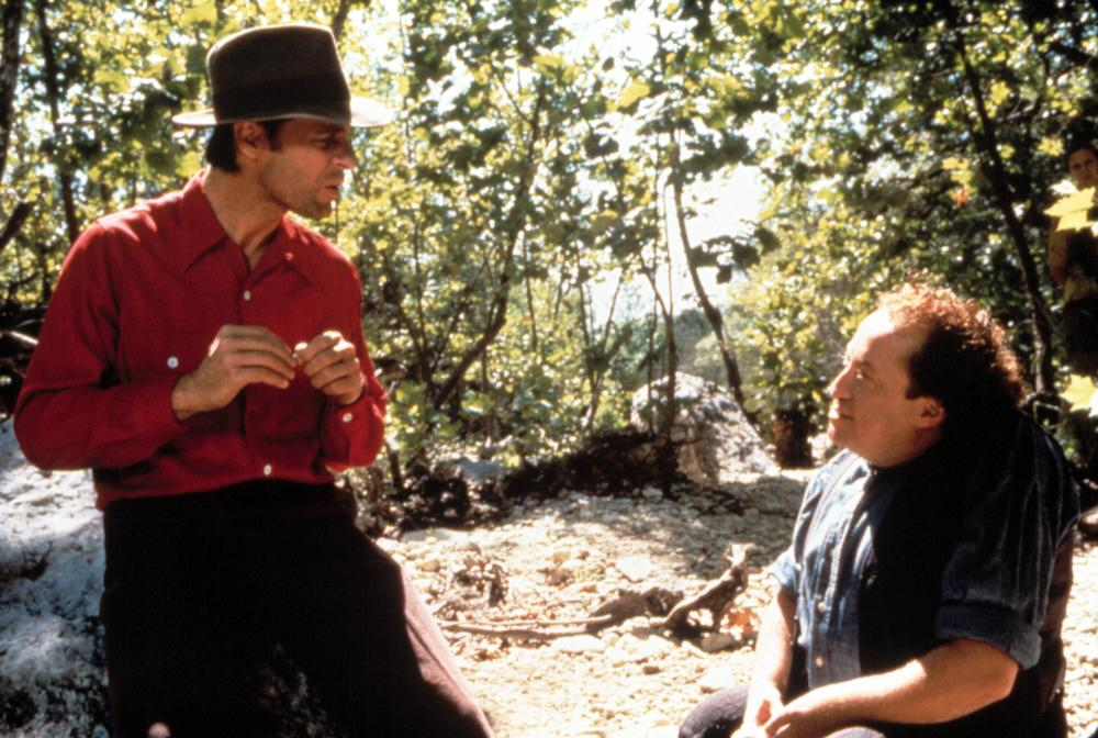 Keith Carradine and Cork Hubbert in The Ballad of the Sad Cafe (1991)