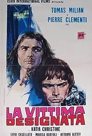 Pierre Clémenti and Tomas Milian in La vittima designata (1971)