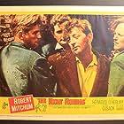 Robert Mitchum, Richard Harris, Cyril Cusack, and Dan O'Herlihy in A Terrible Beauty (1960)