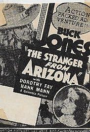 The Stranger from Arizona Poster
