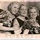 Louise Dresser, Minna Gombell, and Jobyna Howland in Stepping Sisters (1932)