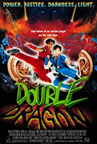 Mark Dacascos and Scott Wolf in Double Dragon (1994)