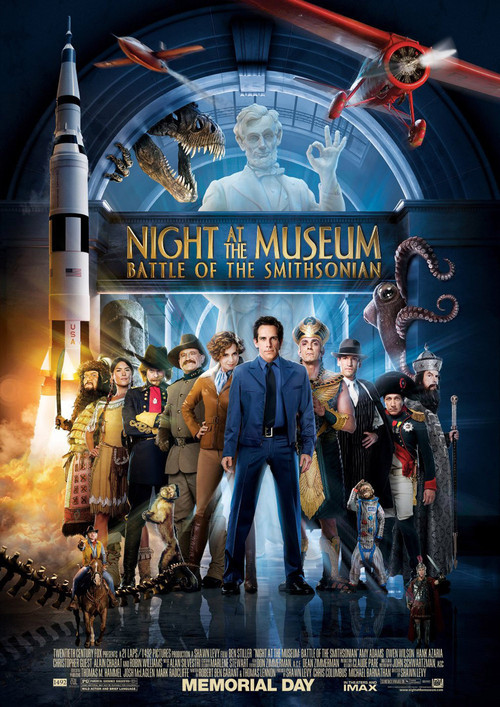 Night at the Museum: Battle of the Smithsonian Cover