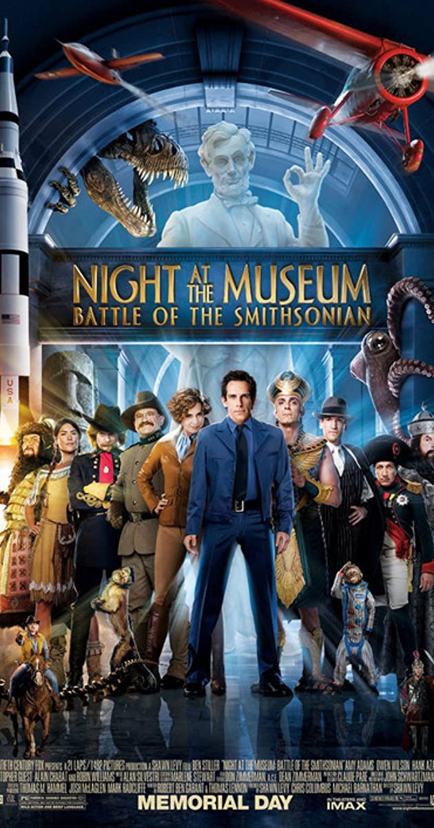 Subtitle of Night at the Museum: Battle of the Smithsonian
