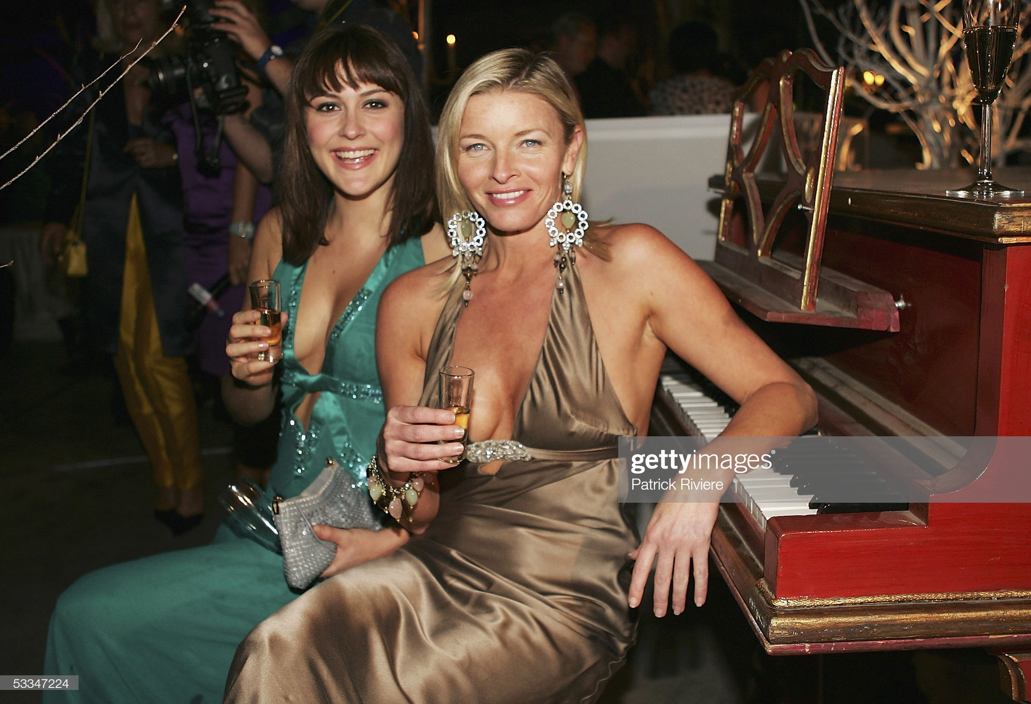Tammy Macintosh and Natalie Saleeba at an event for All Saints (1998)