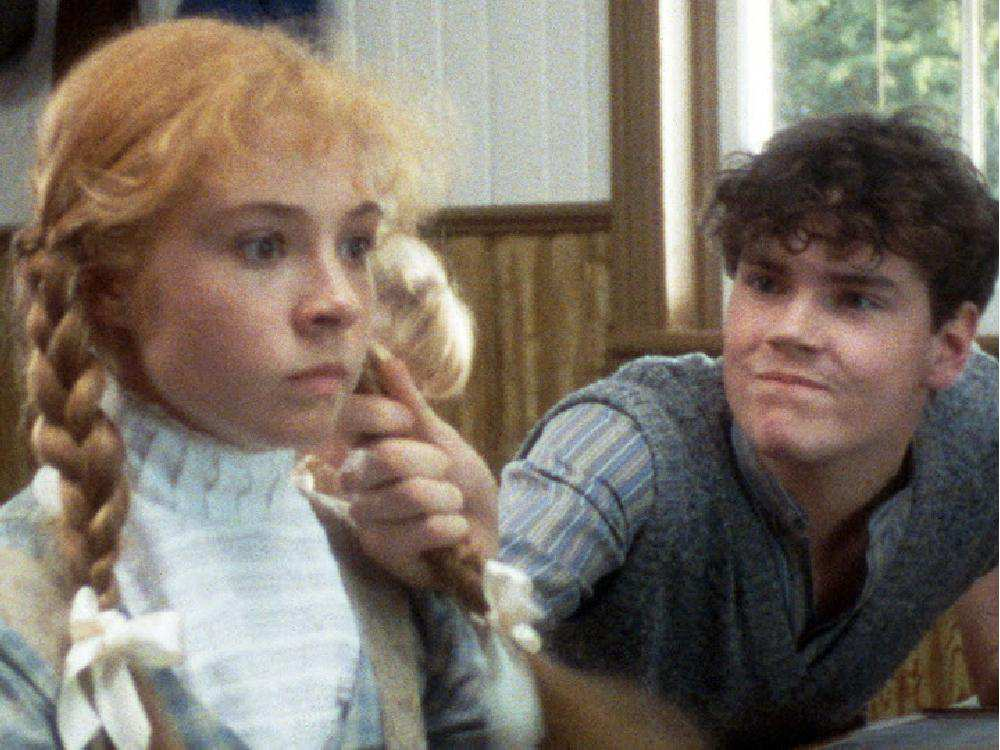 Megan Follows and Jonathan Crombie in Anne of Green Gables (1985)