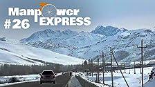 Kirgisistan: Fahrradfahren bei -10°C