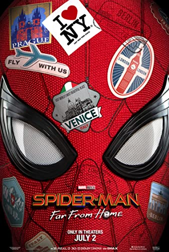 Spider-Man Far From Home (2019) English HDRip