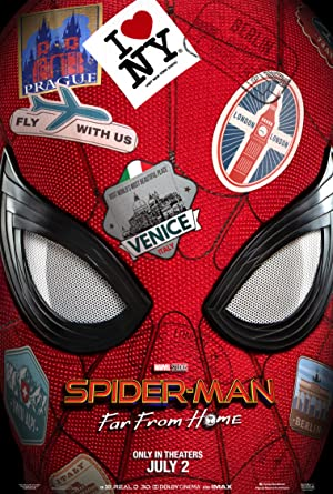 Download Spider-Man Far from Home (2019) Marvel Cinematic Universe {Hindi-English} HDRiP 480p [460MB] || 720p [1GB] || 1080p [3.7GB]