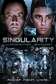 John Cusack and Julian Schaffner in Singularity (2017)