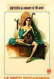 Le notti peccaminose di Pietro l'Aretino Poster