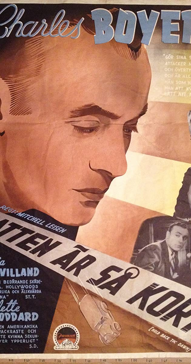 Hold Back the Dawn (1941) Subtitles