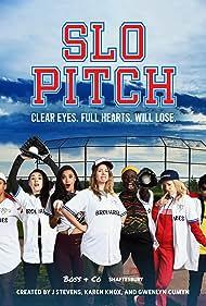 Chelsea Muirhead, Karen Knox, Gwenlyn Cumyn, Khadijah Roberts-Abdullah, Amanda Cordner, Kirsten Rasmussen, and Lane Webber in Slo Pitch (2020)
