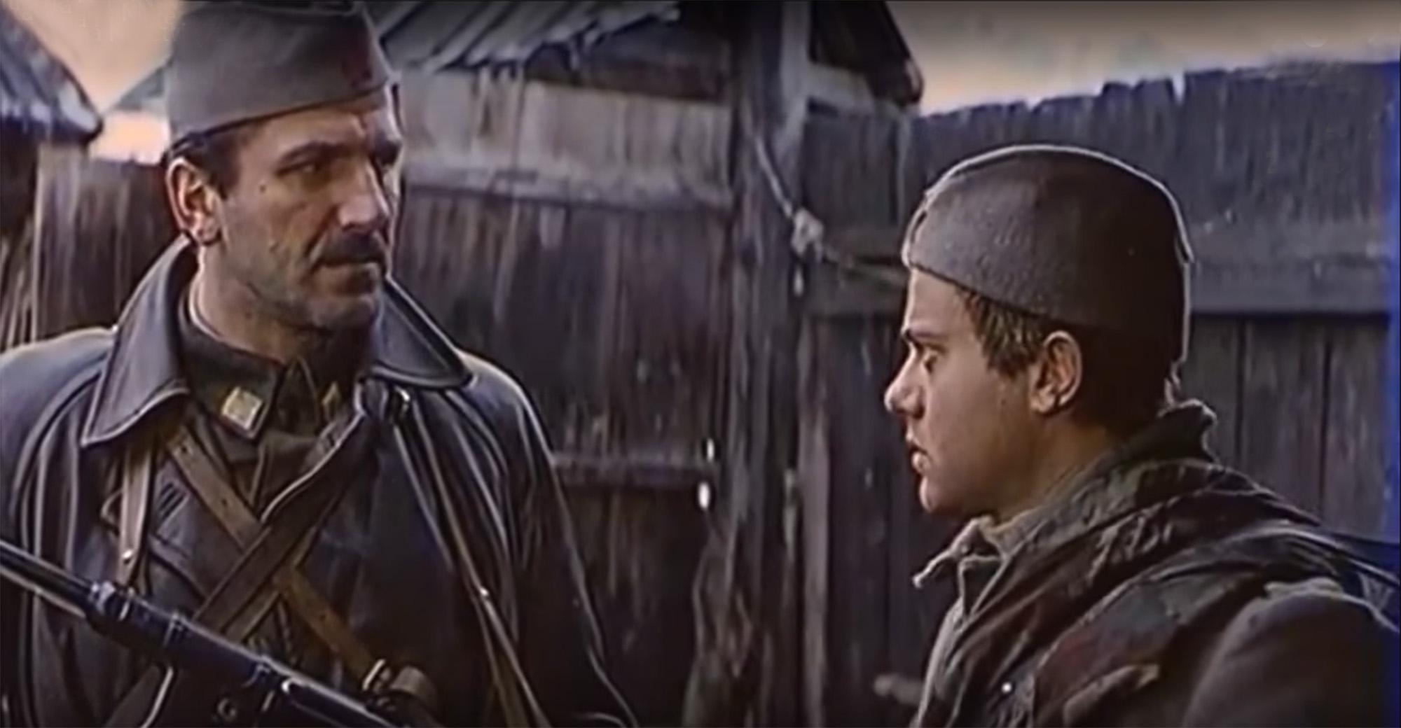 Nikola-Kole Angelovski and Velimir 'Bata' Zivojinovic in Bitka na Neretvi (1969)