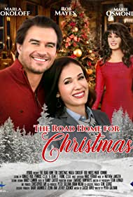 Marie Osmond, Marla Sokoloff, and Rob Mayes in The Road Home for Christmas (2019)